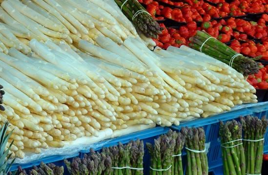 Špargľa je kráľovná jarnej zeleniny.